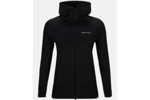 Peak Performance W Chill Zip Hood (Black)