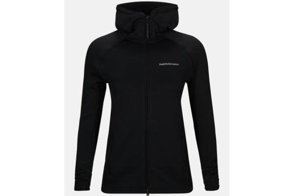 Peak Performance W Chill Zip Hood (Black)