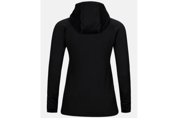 Peak Performance W Chill Zip Hood (Black) back