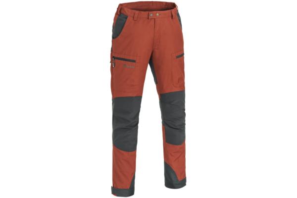 Pinewood-Trousers-Caribou-TC_Terracotta-Grey Outdoorbyxa