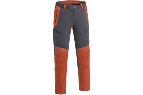 Pinewood-Trousers-Finnveden-Hybrid_Dark-Anthracite-Terracotta outdoor byxa