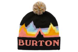 Burton Kids Echo Lake Beanie (True Black Rainbow)