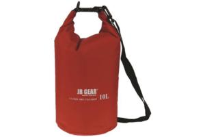 JR Gear Classic Dry Cylinder 10 l röd vattentät packpåse