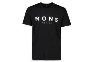Mons Royale Icon Tee (Black)