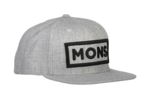 Mons Royale Wool Connor Cap Grey