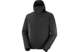 Salomon Outrack insulated Hoodie M (Black)