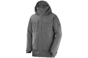 Salomon Stance Cargo Jacket M (Black Heather)