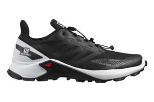 Salomon Supercross Blast Black white black trailrunning sko