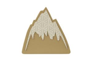Burton Foam Mats Mountain Logo