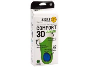Sidas Comfort 3D Junior inläggssula