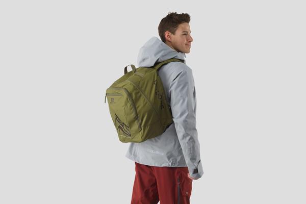 Salomon Extend Gear Backpack (Martini Olive/Black)