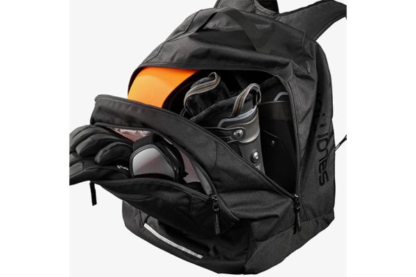 Salomon extend gear backpack svart detalj