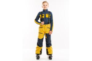 8848 Altitude Cody Jr Pant Mustard gul skidbyxa