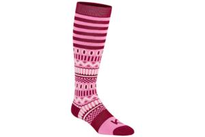 Kari Traa Åkle Sock Fan rosa skidstrumpa