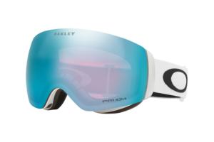 Oakley Flight Deck M Matte White Prizm Sapphire skidglasögon