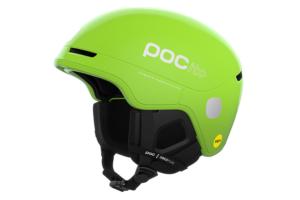 POC POCito Obex Mips Fluorescent Yellow Green skidhjälm för barn