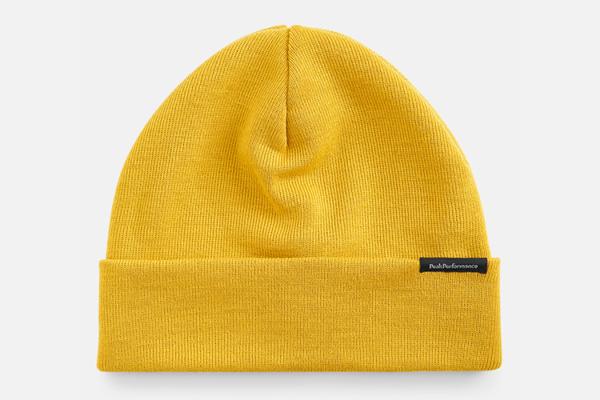 Peak Performance Åre Hat Trek Yellow mössa