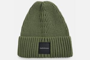 Peak Performance Cornice Hat Thrill Green, grön mössa