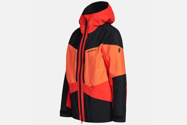 Peak Performance Gravity Jacket Racing Red-Zeal Orange-Black