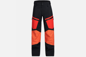 Peak Performance Gravity Pants Racing Red-Zeal Orange-Black skidbyxa