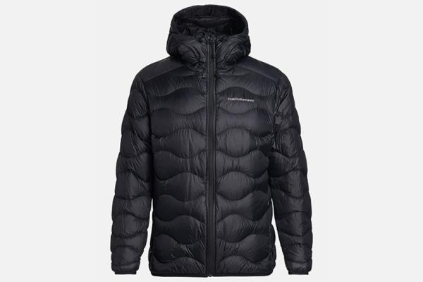 Peak Performance M Helium Hood Jacket Black dunjacka
