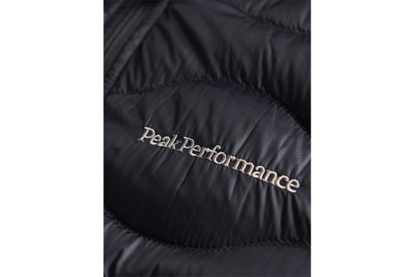 Peak Performance M Helium Hood Jacket Black Detalj