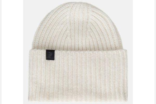 Peak Performance Mason Hat OffWhite stickad mössa