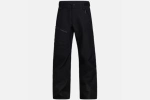 Peak Performance Vertical 3L Pants Black skidbyxor