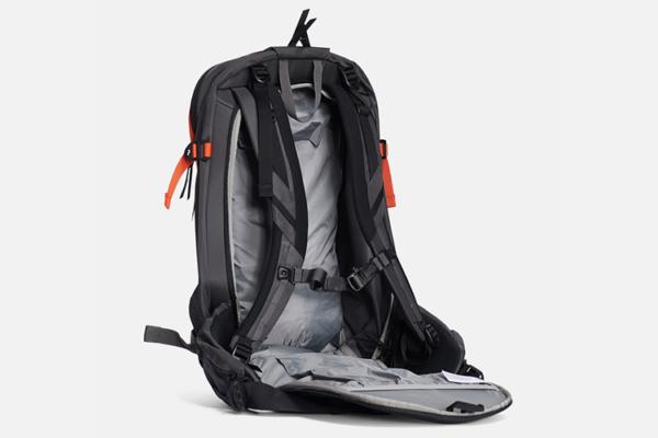 Peak Performance Vertical Ski Backpack Zeal Orange detalj 3