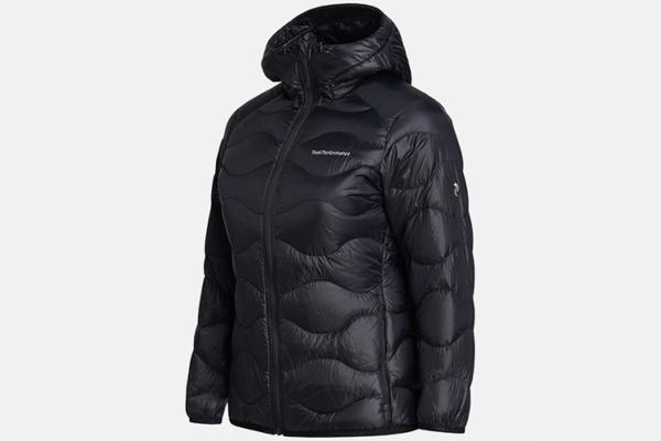 Peak Performance W Helium Hood Jacket Black sida Dunjacka