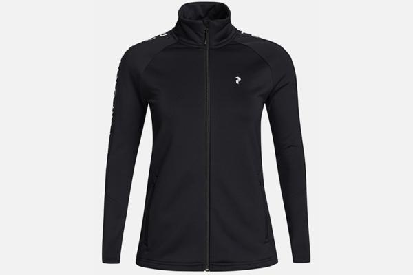Peak Performance W Rider Zip Jacket Black mellanlager jacka