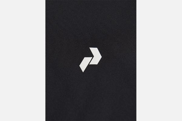 Peak Performance W Rider Zip Jacket Black Detalj logo