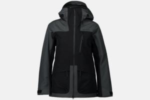 Peak Performance W Vertical 3L Jacket Grey-Black skid jacka