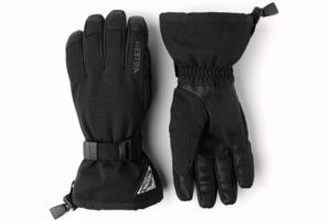 Hestra Powder Gauntlet 5-finger Svart skidhandskar