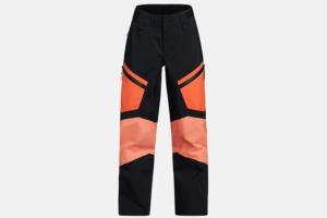 Peak Performance W Gravity Pants Zeal Orange-Light Orange-Black skidbyxa