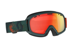 Scott Jr Witty Chrome Sombre Green Pumpkin Orange goggles